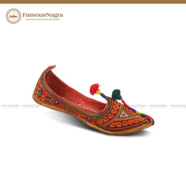Art 1003: Gents Hand Made Rajhistani khussa-Nagra