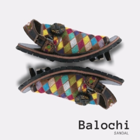 Gents Hand Made Balochi Sandal