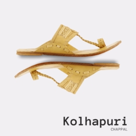 Hand Made Kolha Puri Slipper